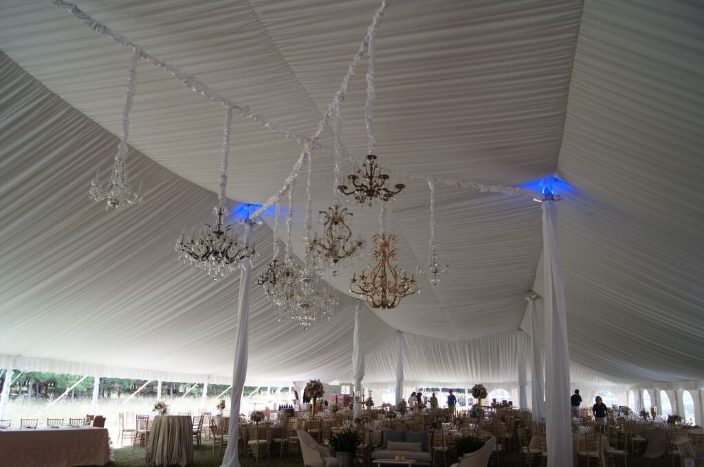 Event Lighting - Chandeliers and LED