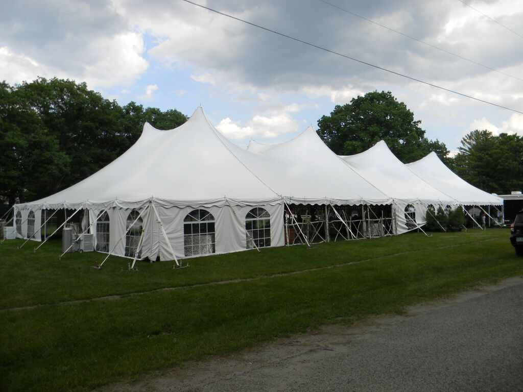 60 x 130 Tension Tent with Cathedral Sides