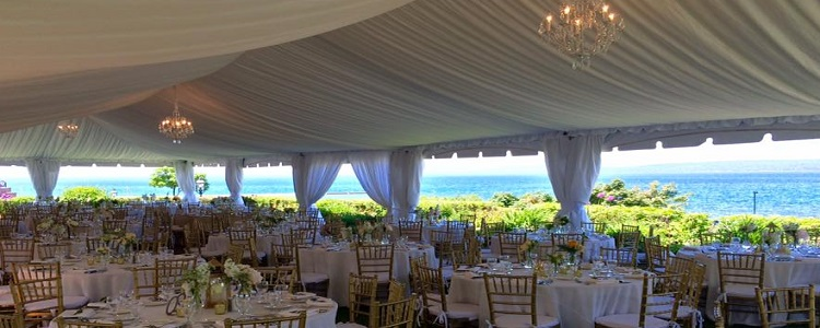 Tent rentals in Petoskey Michigan, Boyne City, Harbor Springs, Traverse City, Bay Harbor, Charlevoix, East Jordan