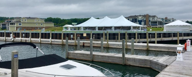 Party rentals in Petoskey Michigan, Boyne City, Harbor Springs, Traverse City, Bay Harbor, Charlevoix, East Jordan