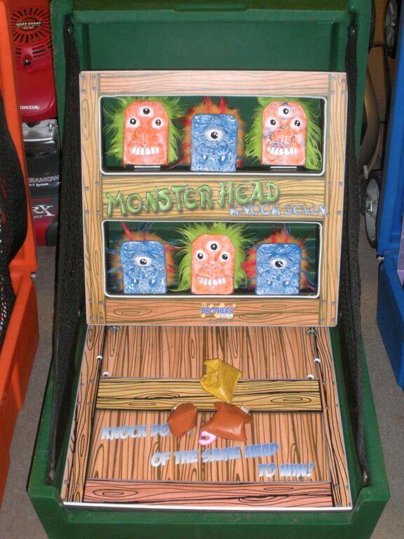 Where to find GAMES, CASE MONSTER KNOCKDOWN BAG TOSS in Petoskey
