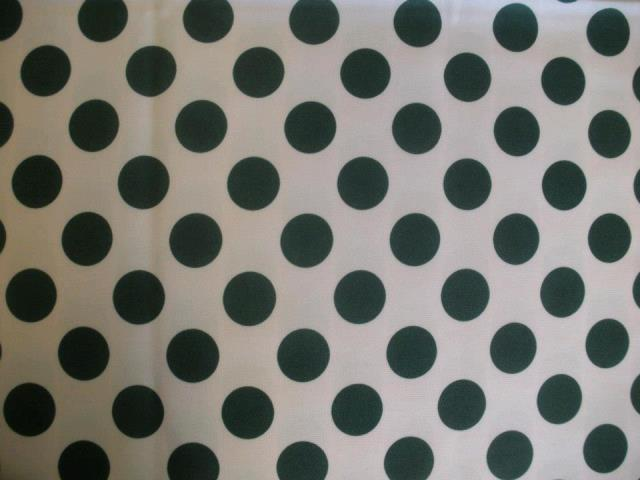 Where to find WHITE W GREEN POLKA DOT 90  ROUND in Petoskey