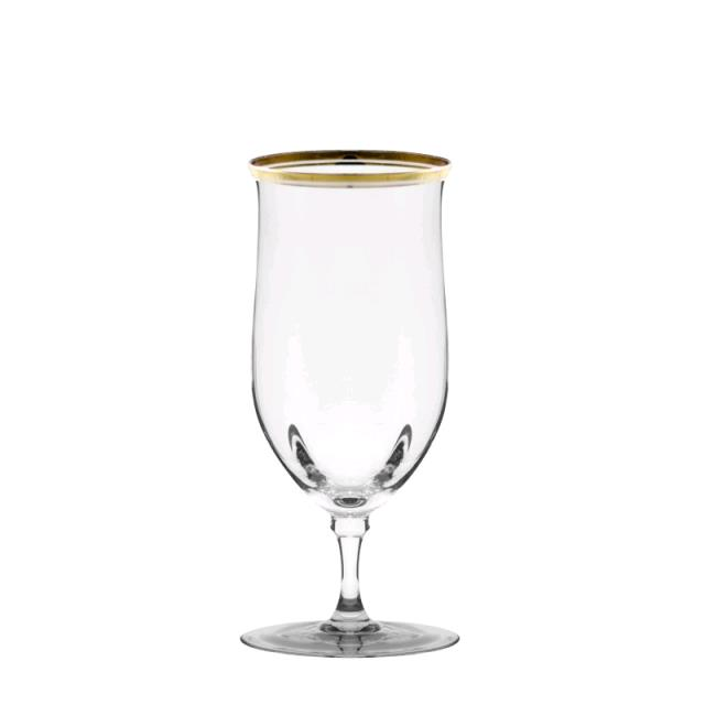Where to find GLASSWARE, WATER GOLD RIM in Petoskey