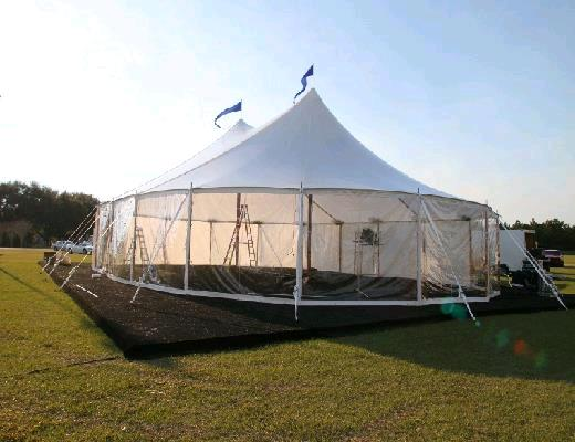 Tent Side Aurora 8 Foot X 10 Foot Clear Rentals Petoskey