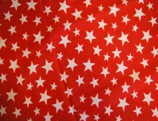 Where to find RED WITH WHITE STARS LINEN in Petoskey