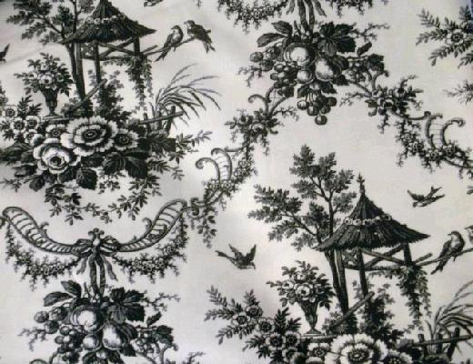 Where to find BLACK   WHITE TOILE LINEN in Petoskey