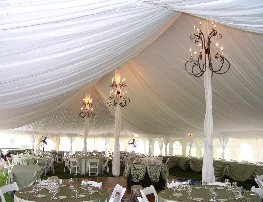 Rope And Pole Tent Liners Rentals Petoskey Mi Where To