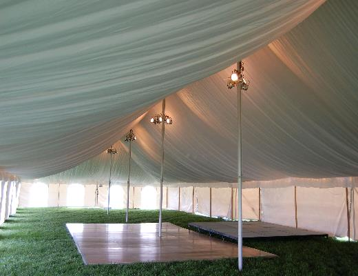 Where to find ROPE AND POLE TENT LINERS in Petoskey
