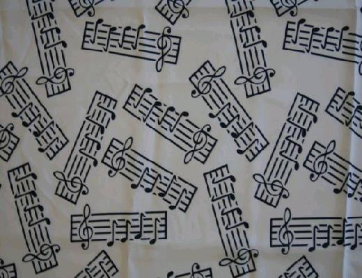 Where to find MUSIC NOTES LINEN in Petoskey