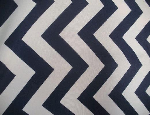 Where To Find Navy White Chevron Table Runner In Petoskey