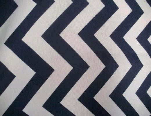 Where to find NAVY   WHITE CHEVRON LINEN in Petoskey