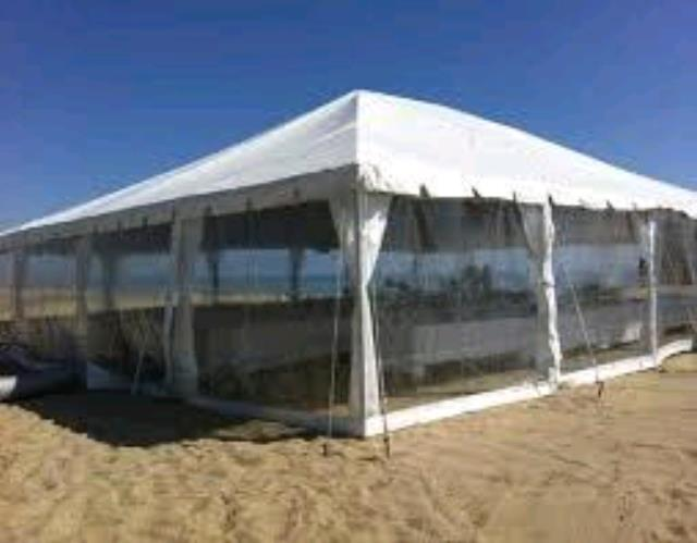 Where to find TENT, SIDE CLEAR 8  X 20 in Petoskey