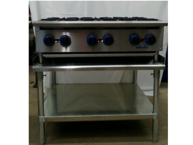 Where to find STOVETOP, 6 BURNER PROPANE W STAND in Petoskey