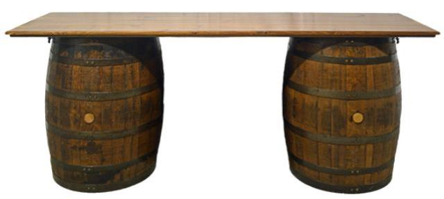 Where to find TABLE, WHISKEY BARRELS W TOP in Petoskey
