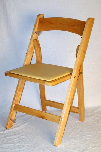Where to find CHAIR, WOOD FOLDING NATURAL in Petoskey