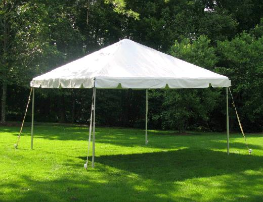 Where to find TENT, 14 X 14 WHITE FRAME in Petoskey