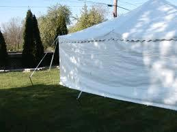 Where to find TENT, SIDE WHITE 7  X 20 in Petoskey