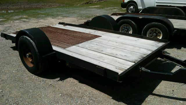 Where to find TRAILER 4 X 8 FLAT WITH RAMP in Petoskey