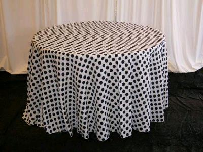 Rent Polka Dot Linen