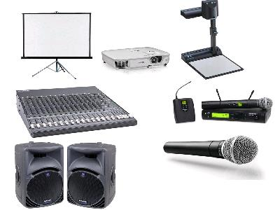Rent Audio Visual Equipment